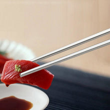 Load image into Gallery viewer, 5 Metal Chopsticks Maebashi - Chopsticks