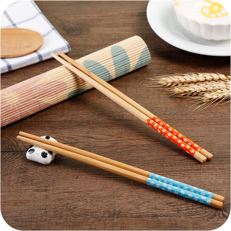 5 Wooden Chopsticks Nagaoka - Chopsticks