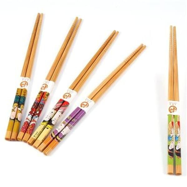 5 Wooden Chopsticks Saitama - B - Chopsticks