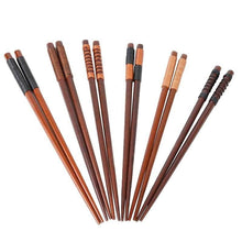 Load image into Gallery viewer, 6 Chestnut Wood Chopsticks Mito - Chopsticks