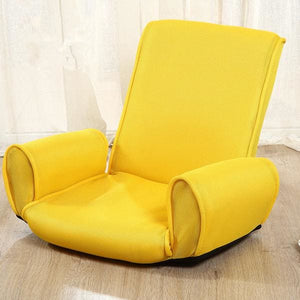Armchair Hachijo - Yellow Color - Tatami Chair