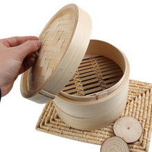 Load image into Gallery viewer, Bamboo Steamer Maizuru - Pots & Pans