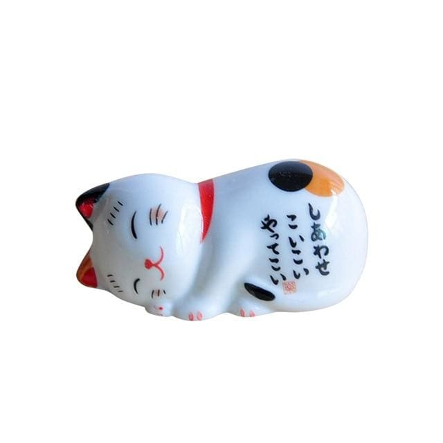 Chopsticks Holder Maneki Neko - D 4 5x2cm (1 8x0 8) - Chopstick Holders