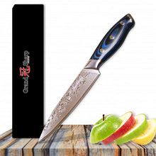 Load image into Gallery viewer, Damascus Knife yama - Knives