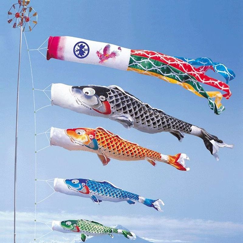 Koinobori Flag Hanan - Outdoor