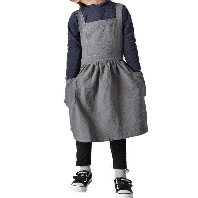 Kids Apron Takebashi ( 2 colors and 2 sizes)