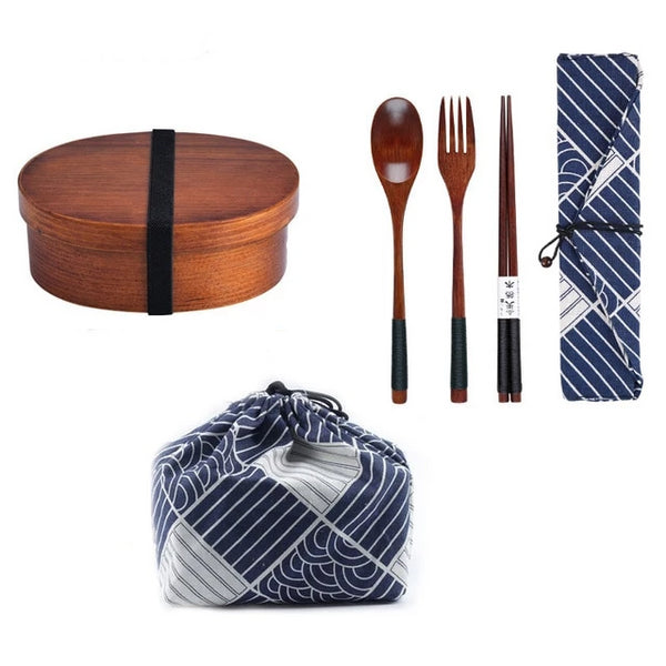 Bento and Cutlery Set Isuna