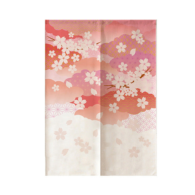 Noren Curtain Sakura ( 3 sizes)