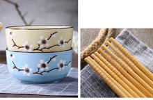 Load image into Gallery viewer, 4 Bowls, 4 pairs of Chopsticks and 4 Spoons Set Mita ( 5 colors)
