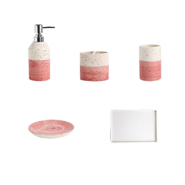 Bathroom Accessories Set Kawa (2 Colors)