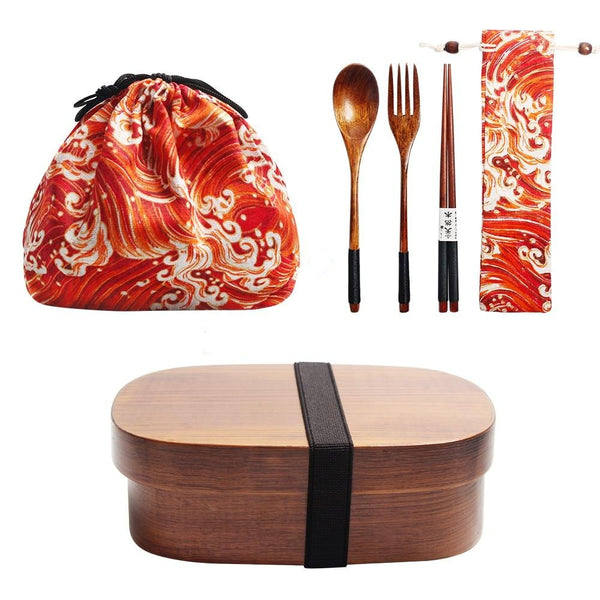 Bento Box and Cutlery Set Tone