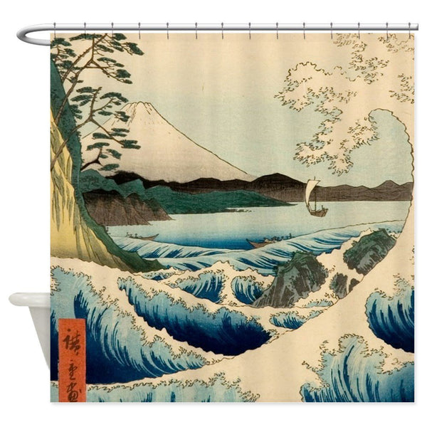 Shower Curtain Handicraft (4 sizes)