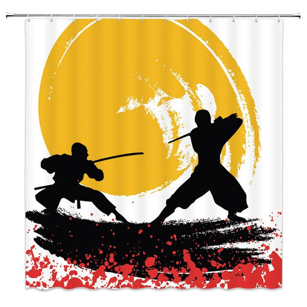 Shower Curtain Samurai (4 sizes)