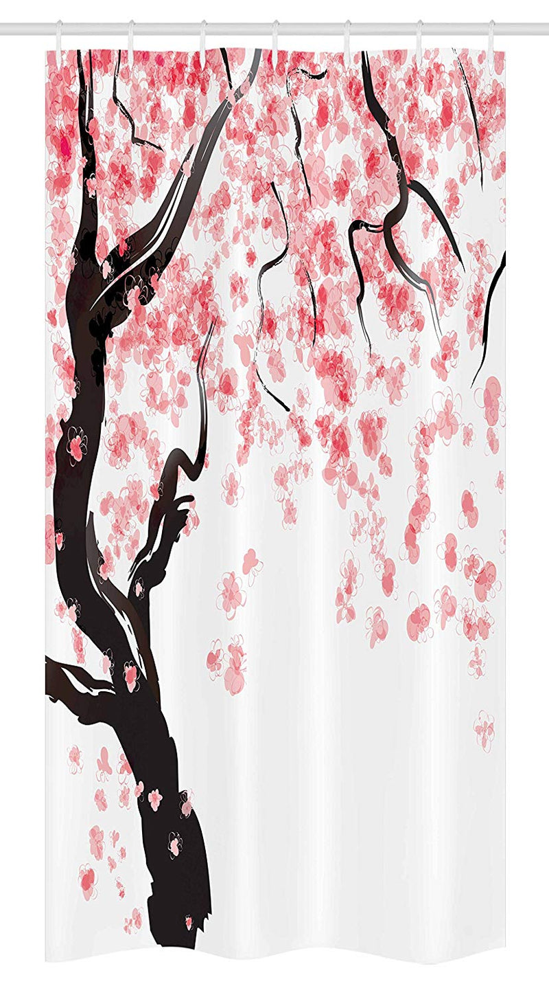 Shower Curtain Japanese Cherry (9 sizes)