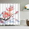 Shower Curtain Sakura in Blossom (6 Images)