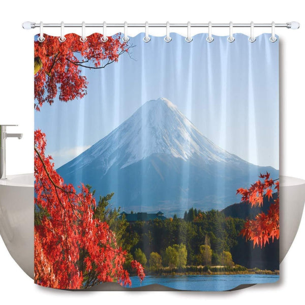 Shower Curtain Fuji Mount II (6 sizes)