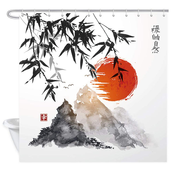 Shower Curtain Rising Sun (5 sizes)
