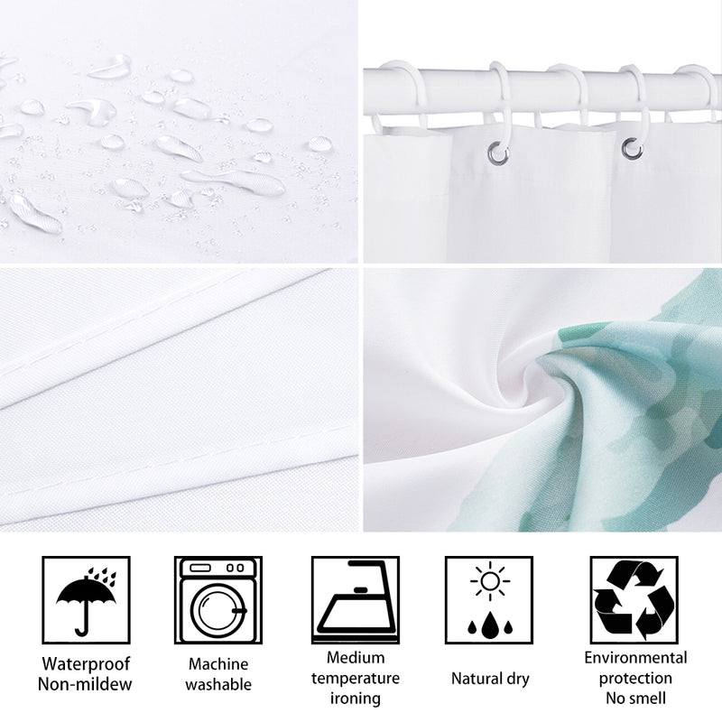 Shower Curtain Koinobori Flags (4 sizes)