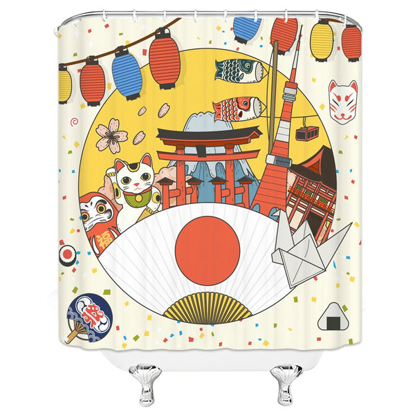 Shower Curtain Tori (4 sizes)
