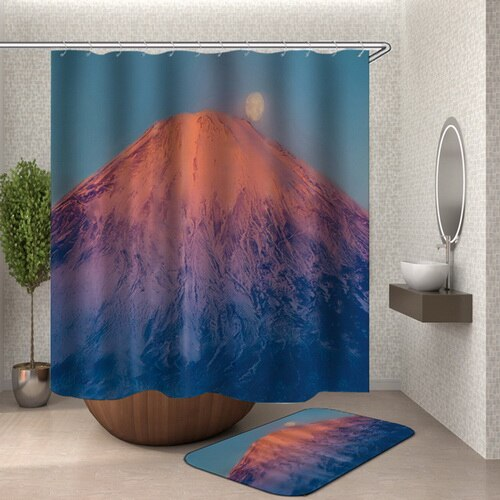 Shower Curtain Mount Fuji (5 sizes)