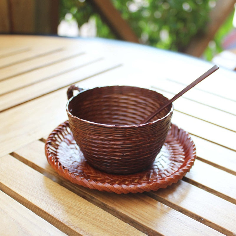 Coffee Set Bamboo II
