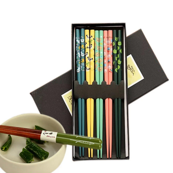 5 pairs of Chopsticks Set Nagoya