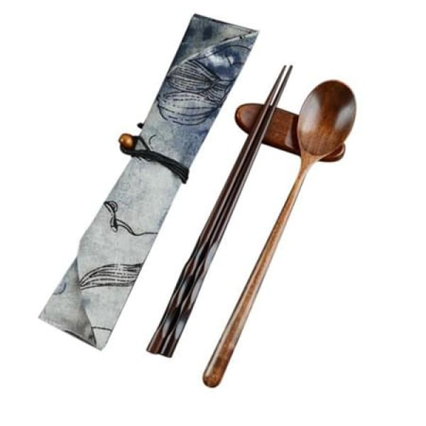 Set Wooden Chopsticks Sumida - Chopsticks