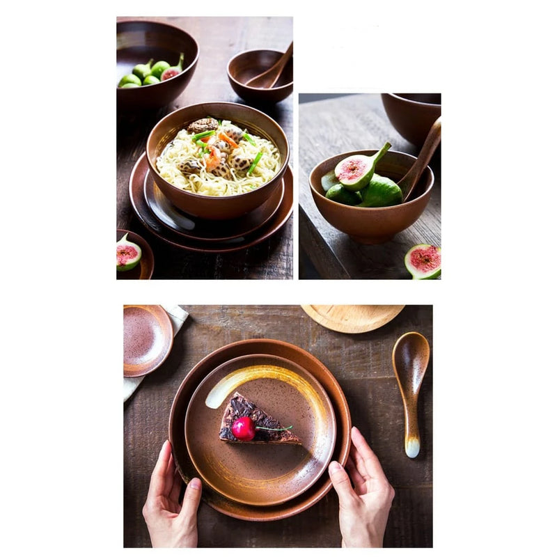 Tableware for six people Hotaru - a