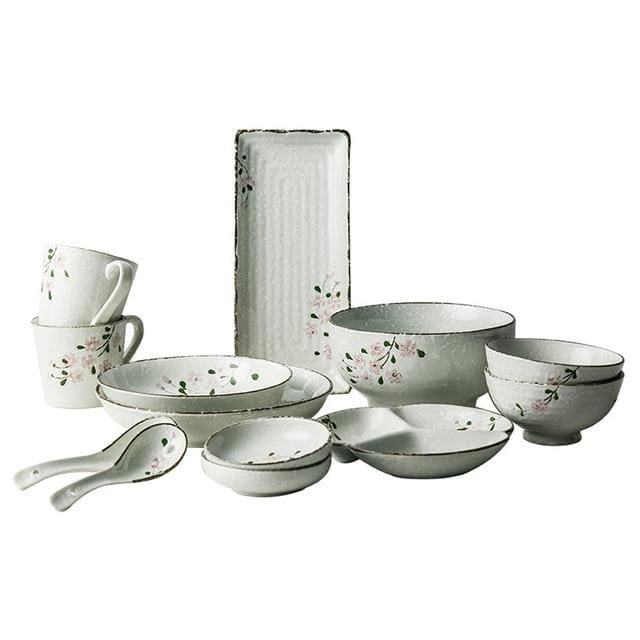 Tableware for two people Itsuki - a