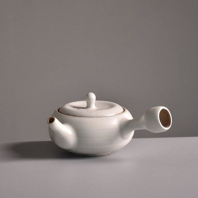 Teapot Kazasi - White - Tea Pot