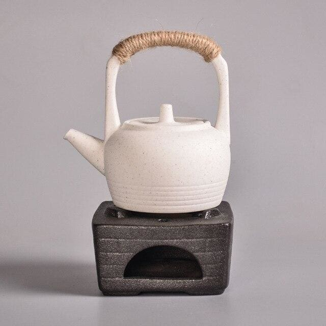 Teapot with Warm Teapot Stove Koana - Style E - Tea Pot