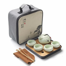 Load image into Gallery viewer, Travel Tea set Minamidait - A - Tea