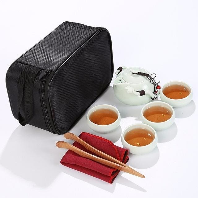 Travel Tea set Minamidait - B - Tea