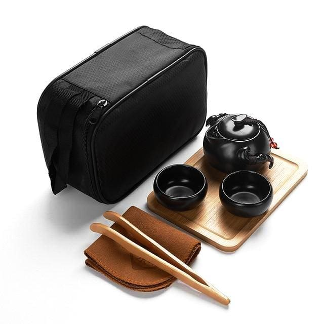 Travel Tea Set Miyakejima - 2 cup with accessory 2 - Tea