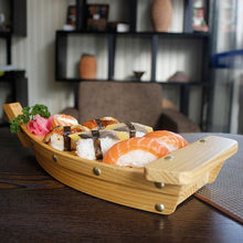 Load image into Gallery viewer, Wooden Boat Katsushika - Sushi Boat