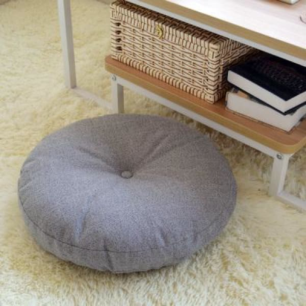 Zafu Hamana - Gray / S - Tatami Cushion