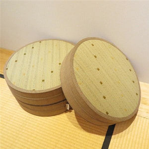 Zafu Tazawa - Light Brown Color / 45x45cm (17.7) - Tatami Cushion