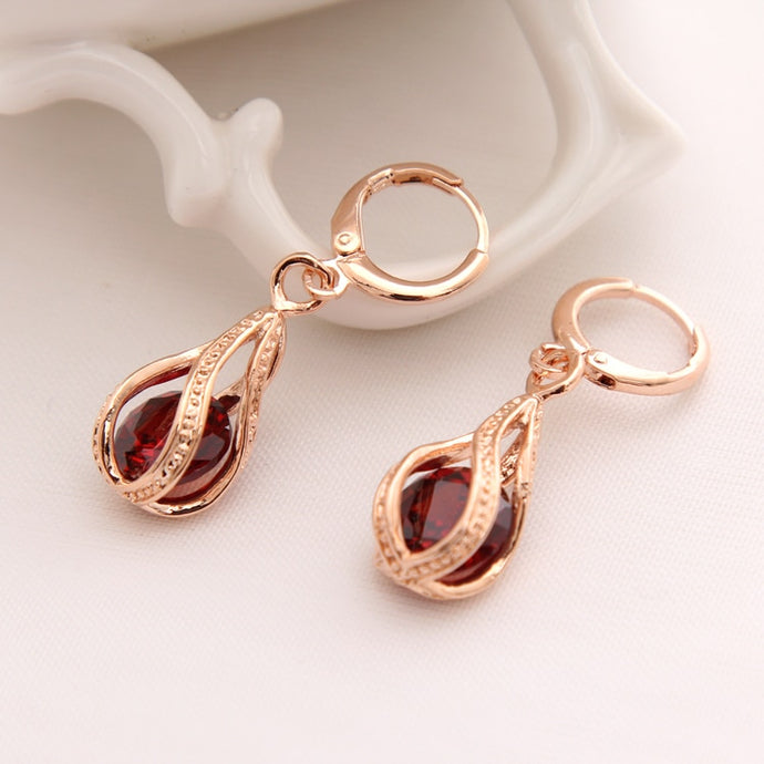 Beautiful Cubic Zirconia Drop Earrings