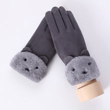 Load image into Gallery viewer, Women Cashmere Touch Screen Driving Gloves