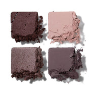EYESHADOW QUAD HIGH PIGMENT. WET OR DRY.