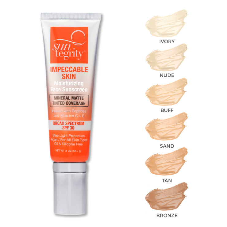 Suntegrity Impeccable Skin, Broad Spectrum SPF 30 Swatches