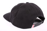 Hopps Logo Six Panel Hat Black