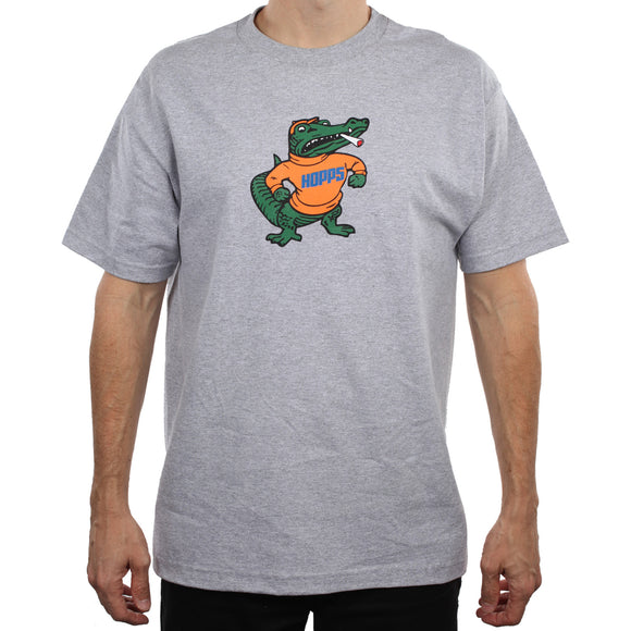 Hopps Gator Tee Heather Grey