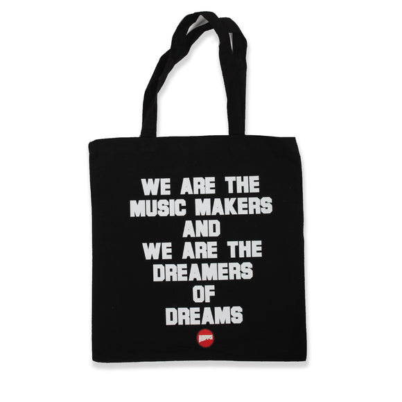 Hopps Music Makers Tote Bag Black