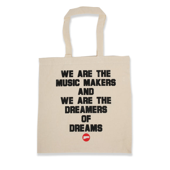 Hopps Music Makers Tote Bag Natural