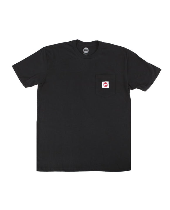 Hopps Sun Pocket Tee Black