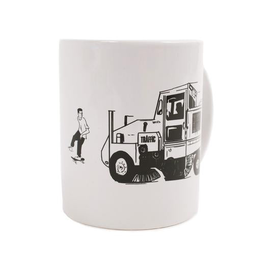 Traffic Skateboards 'Street Cleaner' Mug