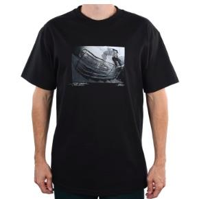 Traffic Skateboards Traffic x Nocturnal Tee Black