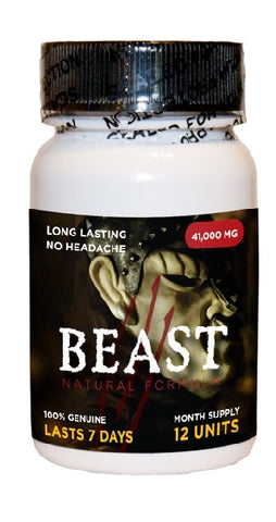 Beast 12 Pill Bottle