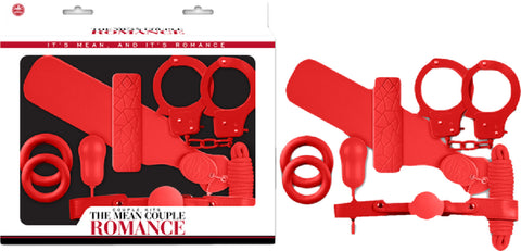 The Mean Couple Romance Kit (Red)